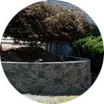 Retaining Wall Contractor Natural Stone