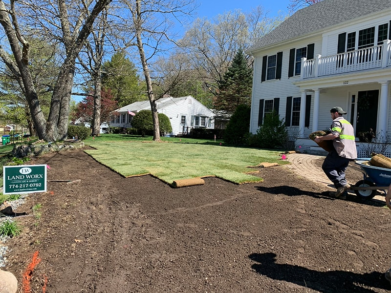 Lawn Installation Process