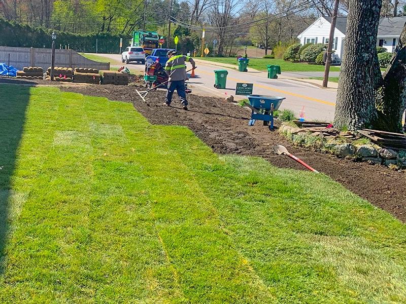 Lawn Installation Services Team